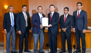 Toyota Lanka signs MOU with HNB Introduces Toyota Branded Credit Card