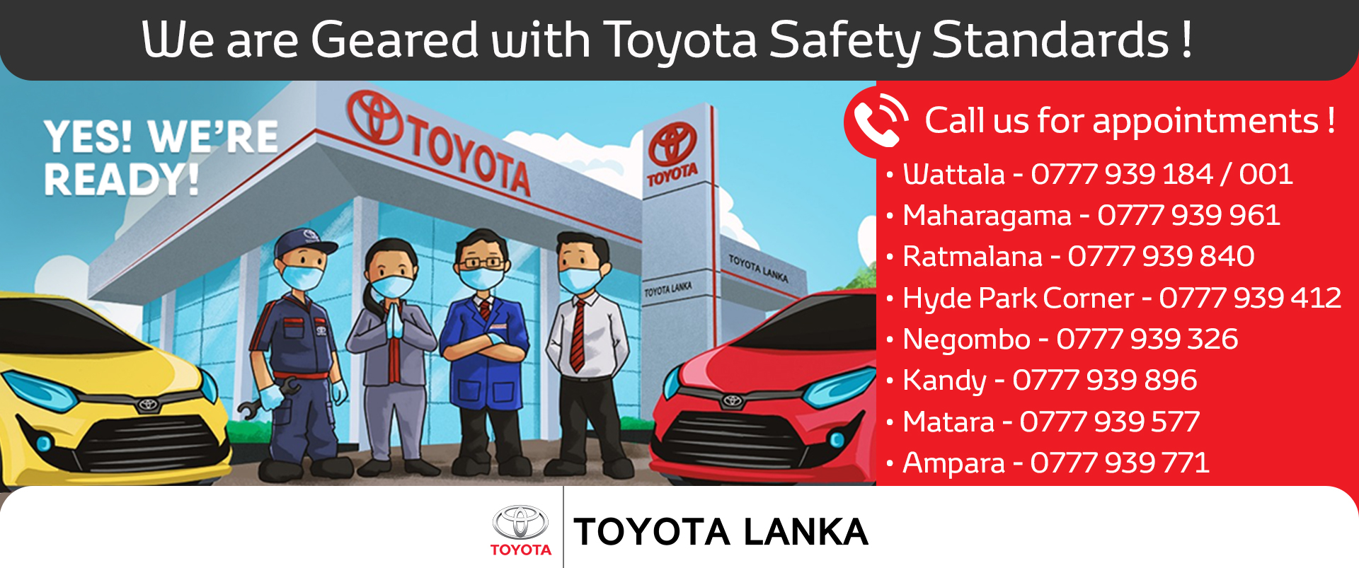 Toyota Customer Notice